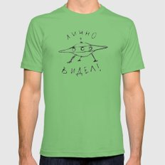 ЛИЧНО ВИДЕЛ! LARGE Grass Mens Fitted Tee
