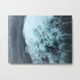 Oceans of New Zealand Metal Print