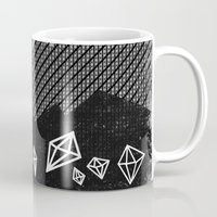 mineral Mugs featuring Mineral by Jenny Tiffany