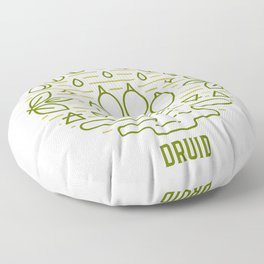 Druid Emblem Floor Pillow