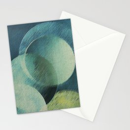 The Phases of the Blue Moons Stationery Cards