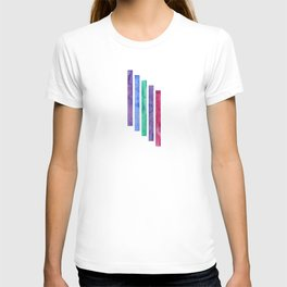 Peacock Stripes T-shirt