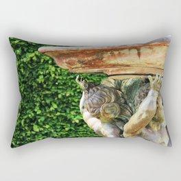 Versailes Fountain Rectangular Pillow