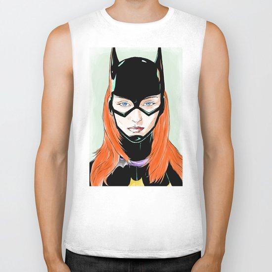 Batgirl Biker Tank