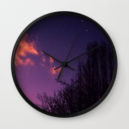 Further Skies Wall Clock