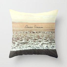 Ocean Dream III Throw Pillow