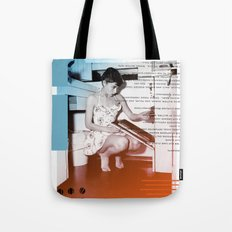 A.H. Collage Tote Bag