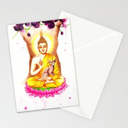 Buddha and Dobby Stationery Cards
