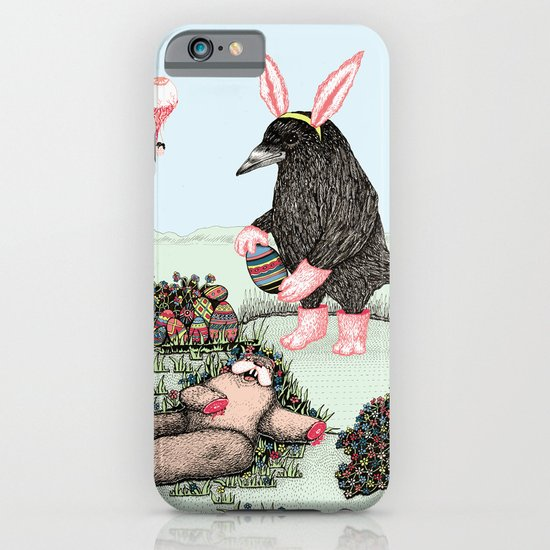 Crow Serie :: Easter Crow iPhone & iPod Case
