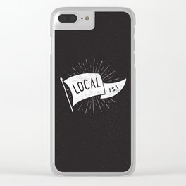 Localist Clear iPhone Case
