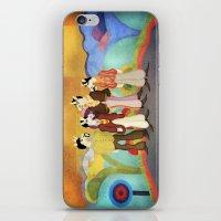 submarine iPhone & iPod Skins featuring Unicorn Submarine by That's So Unicorny