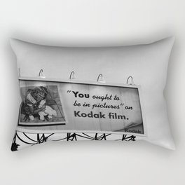 You Ought To Be In Pictures Rectangular Pillow