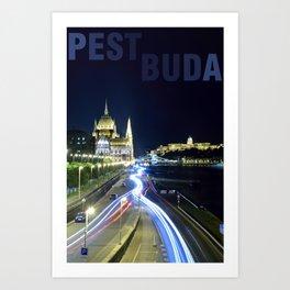 PESTBUDA Art Print