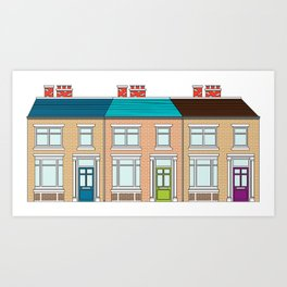 Terrace 2 Art Print