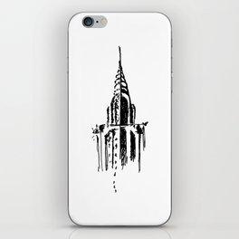 Chrysler Building Sketch iPhone Skin