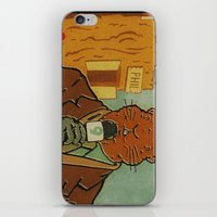phil jones iPhone & iPod Skins featuring Punxsutawney Phil by Derek Eads