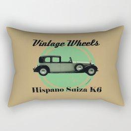 Vintage Wheels - Hispano Suiza K6 Rectangular Pillow