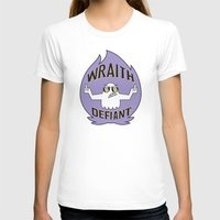 decal T-shirts featuring Wraith Defiant decal by jordannwitt