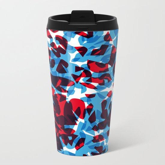 hidden green Metal Travel Mug