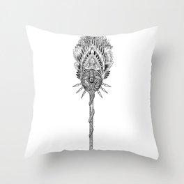 INDIAN SCEPTER Throw Pillow