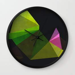Clover Spear Wall Clock