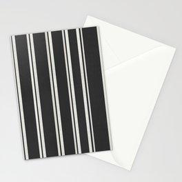 Dark grey retro Stationery Cards