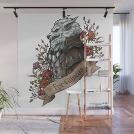 Old Wolf Wall Mural