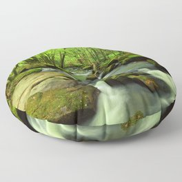Golitha Falls Floor Pillow