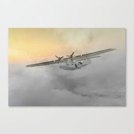 """""""Flying boat"""" Canvas Print"""