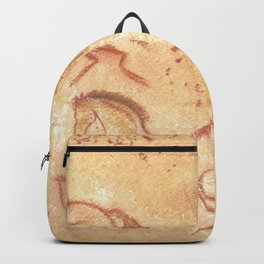 Cave Drawing of Horses Backpack