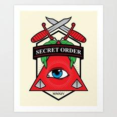 Secret Order Art Print