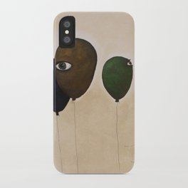 fly high wide eyes iPhone Case