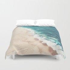 Beach Nazare Duvet Cover