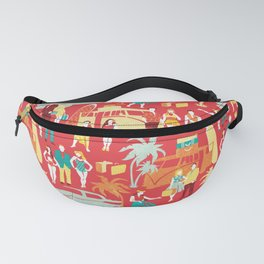 Hawaii elegance in action Fanny Pack