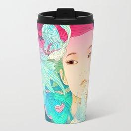 Fish Lady Travel Mug