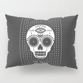 Minimal Tarot Deck The Death Pillow Sham