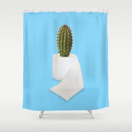 TOILECTUS PAPER Shower Curtain