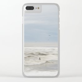 Flight of the Seagul Clear iPhone Case