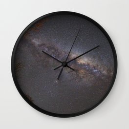 Milky Way Just Love! Wall Clock