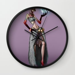 Marinette Yaga Wall Clock