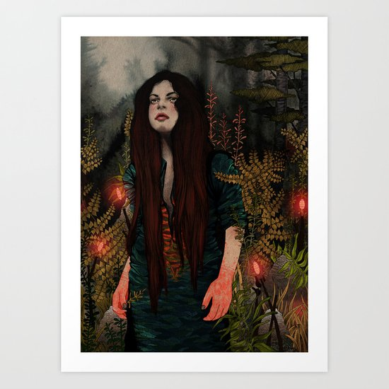 The Keepers - Guiding Lights Art Print