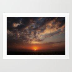 Early Morning on Fripp Island Art Print