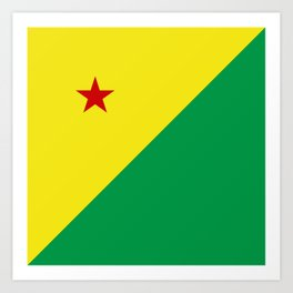 flag of Acre Art Print