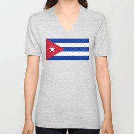Bandera Cuba | Cuban Flag Unisex V-Neck