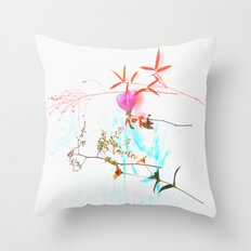 Unnatural Decay  Throw Pillow