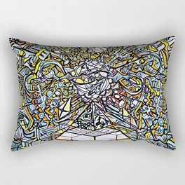The Legacy of the Ancients Rectangular Pillow