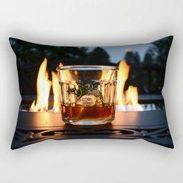 Fireside Bourbon Rectangular Pillow