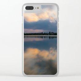 Lake in swabia Clear iPhone Case