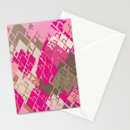 Neopolitan Diamonds Stationery Cards