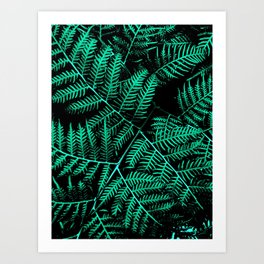 Mint Bracken Art Print